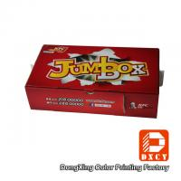 Wholesale Corrugated Cardboard Fast Food Boxes Packaging Recyclable Red Varnish Coating Printing from china suppliers
