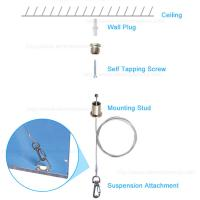 Buy cheap Ø1.2MM Steel Wire Rope Wall Lifting Lamp Hanging Kit / Light Cable Fixtures from wholesalers