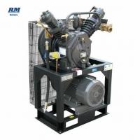 China inlet 7bar outlet 30bar booster air compressor inlet 2m3/min outlet 1.7m3/min booster air compressor for PET blower for sale