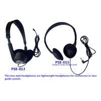 Wholesale Conference stereo headphone lightweight headphone meeting headphone from china suppliers
