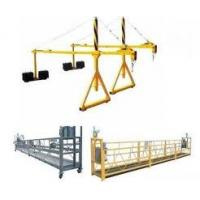 Wholesale Height work Adjustable 1M - 10M Rope suspended platform GZ5001 for high rise building from china suppliers