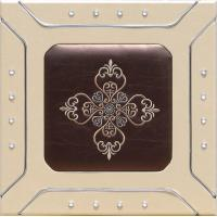 Wholesale Professional Sculpted Mdf  leather Wall Panels , Decorative Interior Panels 400*400mm from china suppliers