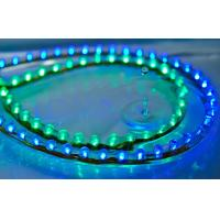 Wholesale Blue / Green 240 leds Low Voltage Led Flex Strip Lights 800mm*7mm*12mm from china suppliers