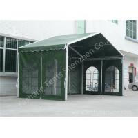 Wholesale Outdoor Green Aluminum Frame Fabric Tent Structures , Fabric Shelter Systems from china suppliers