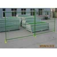 "Wholesale Construction Fence Panels 6'/1830mm*10'/3048mm width powder coated green mesh 3""x6""/75mm x 100mm from china suppliers"