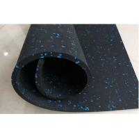 Wholesale Non Slip Rubber Gym Flooring , Rubber Sports Flooring Customized Logo Available from china suppliers