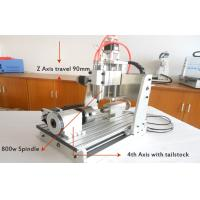 Wholesale Z Axis Travel 90mm 4 Axis CNC3020 Spindle Desktop 3D CNC Router Machine from china suppliers