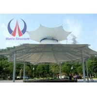 Wholesale Crown Shape Tensile Membrane Canopy Garden Party Marquees Steel Pole Column from china suppliers
