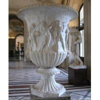Wholesale Marble Flowerpot for building or garden from china suppliers