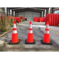 "Wholesale Standard 28"" High Solid Orange BLACK BASE Flexible Road cone Safe cone manufacture offer from china suppliers"