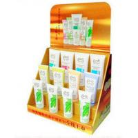 Wholesale 3 Tier Corrugated Cardboard Counter Displays For Cosmetic Promotion With Custom Graphic from china suppliers