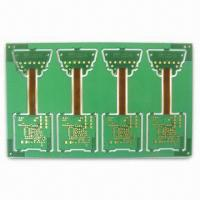 Wholesale Rigid-Flex Board, 4 Layers, 1.6mm Finish Thickness, 0.45mm Min Via Diameter from china suppliers