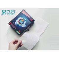 Wholesale 30 Pcs Colour Run Sheets For Mixed Clothes , Washing Helper Color Catchers For Laundry from china suppliers
