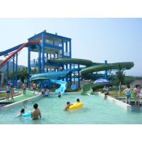 Wholesale Commercial Spiral Water Slide For Water Entertainment , Aqua Park Equipment from china suppliers