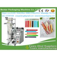 Wholesale Automatic  liquid Popsicle packing machine,ice Popsicle packag ing machine with stainless steel tank and pump from china suppliers