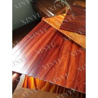 Wholesale Wood grain transfer Aluminium Window Profiles for decoration material from china suppliers