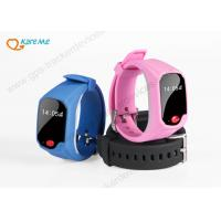 Wholesale Small Lovely Kids GPS Tracker Watch Phone With Two Way Voice Intercom from china suppliers