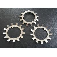 Wholesale SS304 , SS316 Steel Lock Washer With External Teeth Serrated Natural Color from china suppliers