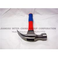 Wholesale Carbon Steel Hand Tools Hammer / Carpenters Claw Hammer Fiberglass Handle from china suppliers