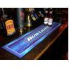 Buy cheap Custom print Logo NBR pvc rubber felt bar spill mat, bar runner bar mat with full colour manufacturer hot wholesale from wholesalers