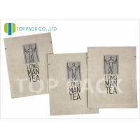 Wholesale Moisture Proof Foil Printed Laminated Bags , Kraft Paper Food Bags Tea Packing from china suppliers