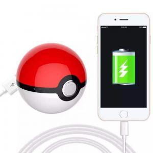 Wholesale Fairy Ball Power bank POKE MOM  USB Pokemon Go LED Power Bank Poke Ball Externe Batterie DE Händler from china suppliers