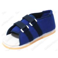 China Padded Canvas Medical Plaster Cast Shoe,lightweight and convenient,soft sole and close velcro on sale