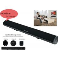 Wholesale Portable Bluetooth Bar Speaker  2.0 Channle Built In Bass System For Home Audio from china suppliers