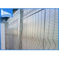 Wholesale Security Mesh Clearvu Security Fence 4mm Wire For Private Grounds from china suppliers