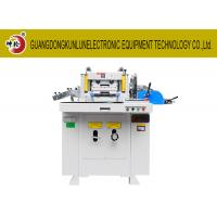 Wholesale Small Hole Set Precision Die Cutting Machine , Fabric Die Cutter Machine from china suppliers