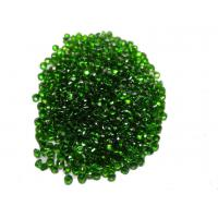 Wholesale 1.5mm Natural Chrome Diopside Jewelry Green Round For Chrome diopside Rings from china suppliers