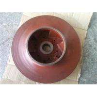 Wholesale Customized copper / iron casting water pump Impeller , slurry pump impeller from china suppliers