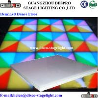 Wholesale Acrylic RGB LED Dance Floor Lights For Stage / Wedding / Disco from china suppliers
