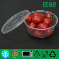 Buy cheap Round PP Feature Microwave Takeaway Plastic Food box 625ml from wholesalers