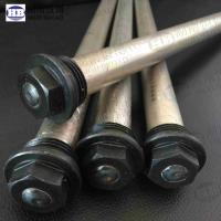 Wholesale Extruded water heater anode rod magnesium with Hex head from china suppliers