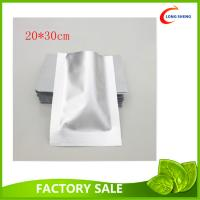 Wholesale Flat Aluminum Foil 3 Side Heat Seal Plastic Vacuum Food Storage Bags 0.08mm / 0.11mm thick from china suppliers