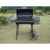 Quality China BARREL charcoal bbq grills smoker for sale