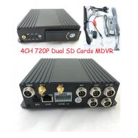 Wholesale 4 Channels GPS dual sd card 3G sim card Car Mobile DVR  for vehicles from china suppliers