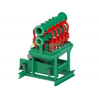 China Oilfield 12nos Hydrocyclone Dewatering System,  Vibration Motor Desilter Cones Machine on sale