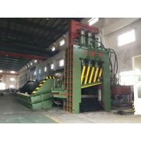 Wholesale 180 - 450KW 380V 3PH 50Hz Hydraulic Metal Shear / Scrap Metal Press from china suppliers