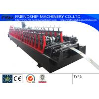 Wholesale Automatic Punching Galvanized Steel Rack Roll Forming Machine With Gearbox Driven from china suppliers
