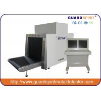 Wholesale Large Size Security Baggage Inspection System , 80*65cm Tunnel X ray Machine For Airport from china suppliers
