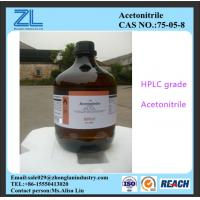 Wholesale HPLC Grade Acetonitrile Industrial Raw Materials for Pesticide Analysis CAS NO 75-05-8 from china suppliers