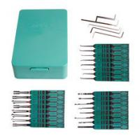 Wholesale Hooked Auto Locksmith Tools 32 Lily Set Soft - Plastic Handle Lock Smith Tools from china suppliers