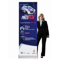 Wholesale Classic Rolla Retractable Display Banners Including Printed banner and Aluminum Base from china suppliers