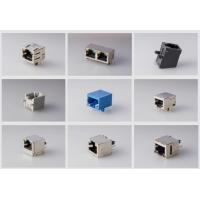 Network Switch Single Port RJ45 Female Jack Connector Tab Up Without Transformer
