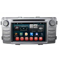 Wholesale Toyota Hilux GPS Navigation Android DVD Player 3G Wifi SWC BT RDS TV from china suppliers
