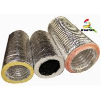Wholesale Supply Ventilation 4'' - 20''  air conditioning flexible  insulated duct from china suppliers