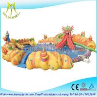 Wholesale Hansel Inflatable Water Park For Pool Party, Inflatable Water Games For Rental Business from china suppliers