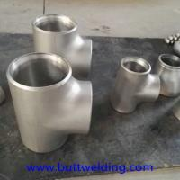Buy cheap Copper nickel equal Tee tube JIN sch40 4inch 90/10 material Butt-welding galvanized Pipe Fittings from wholesalers